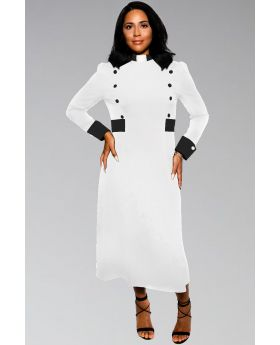 White and Black Clergy Dresses
