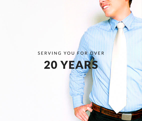 Serving You For Over 20 Years