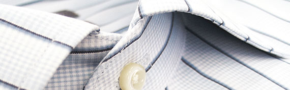 A Man's Shirt Collar